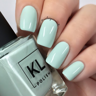 KL Polish Miss Kensington Ethereal Garden Collection Spring 2018 Swatch and Review Nail Experiments