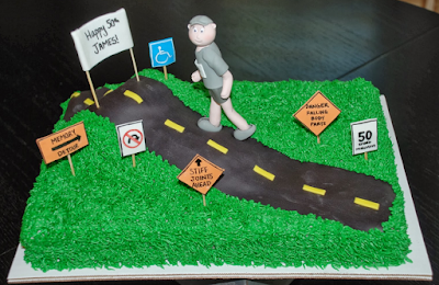 over the hill birthday cakes for men