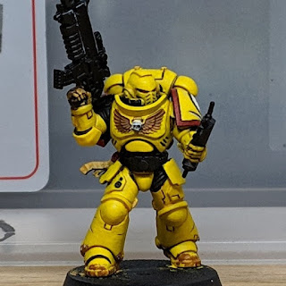 Example Imperial Fist painted