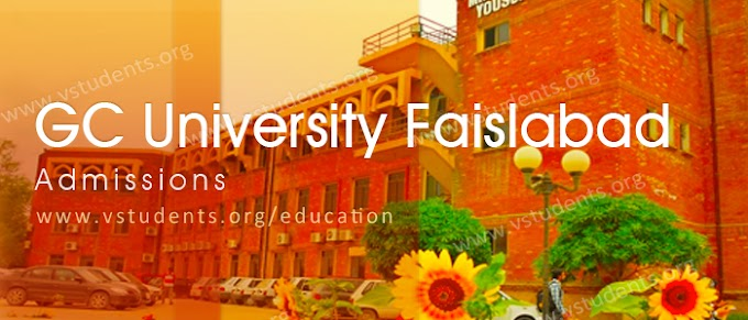 Latest Job Advertisement at GC University in Faisalabad - State College University, Jobs Faisalabad 2021