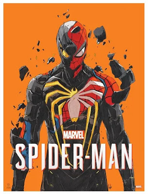 Marvel's Spider-Man Video Game Screen Print by Chun Lo x Plush Art Club x Grey Matter Art