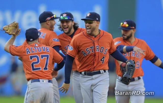 Astros barren Indios y avanza a la Serie de Campeonato de la Liga Americana
