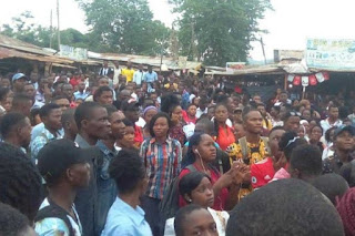 EKSU students protest high charges of internet connection