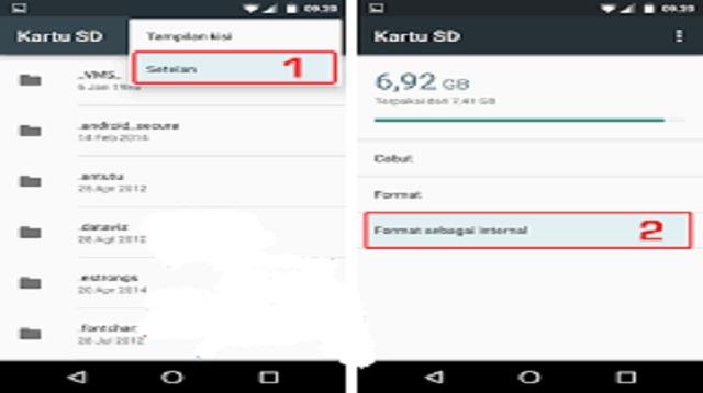 Cara Download File WA yang Belum di Download