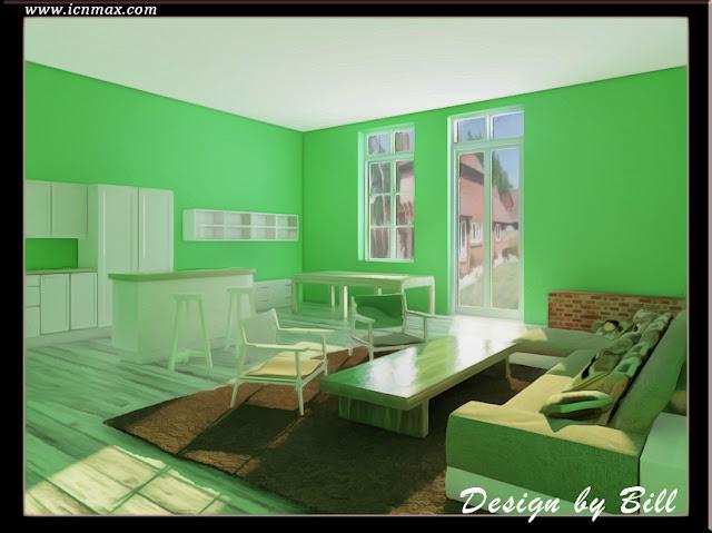 3dsMax靜幀室內藝術設計-廚房