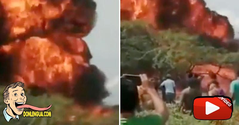 Dos cisternas cargadas de gasolina explotaron en Maicao