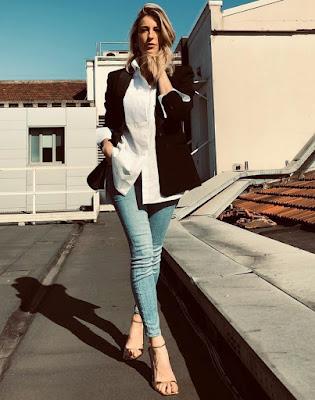 mia Ceran foto scarpe jeans 28 febbraio