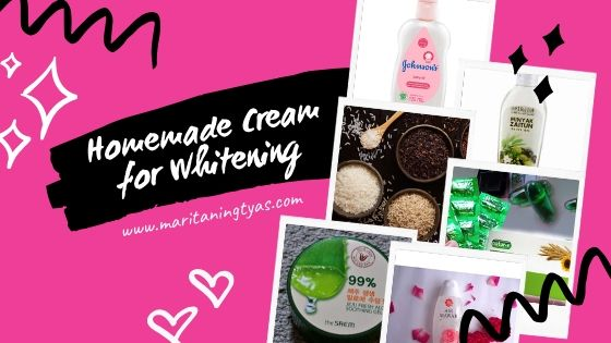 homemade face cream for whitening
