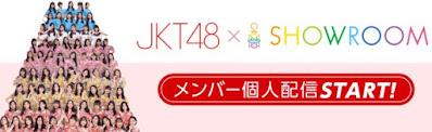 nama akun showroom member jkt48