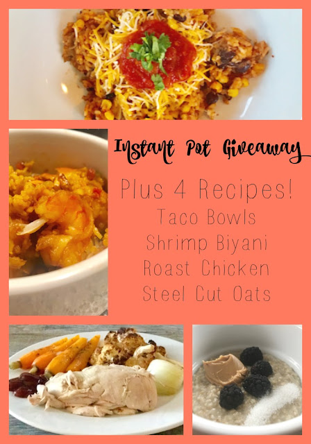 Four Instant Pot Recipes and an Instant Pot Giveaway!