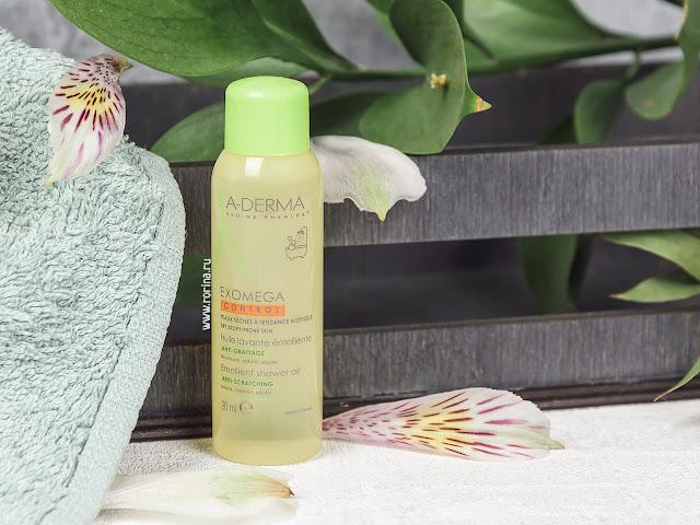 A-Derma Смягчающее очищающее масло для душа Exomega Control: отзывы с фото