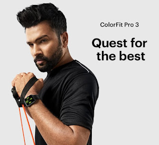 Noise Colorfit Pro 3 Rohit Sharma