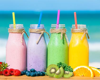 Super Summer fruit smooties