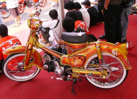 Modifikasi Honda Astrea Prima Limited