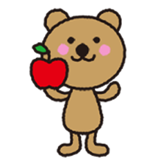 simple foods Sticker with KUMA(vol.1)