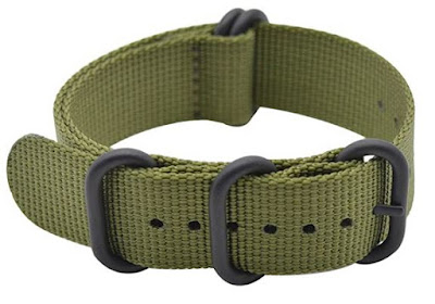 ArtStyle Watch Band with Ballistic Nylon Strap