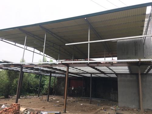 Kiểm tra hệ thống chống thấm cho mái tôn