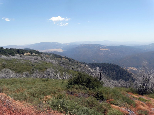 Palomar Mountain and Lake Henshaw