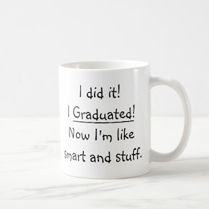 I Graduated Smart Grad Funny Graduation Day Quote Coffee Mug