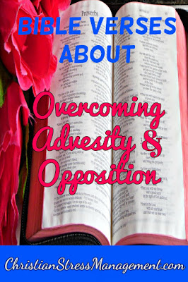 Bible verses about overcoming adversity and opposition