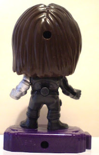 Back of Marvel Studios Heroes #2 Winter Soldier Action Figure