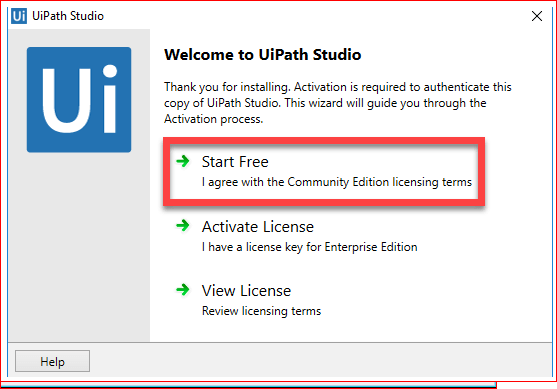 How to install UiPath Studio on Windows 7/8/10  | UiPath