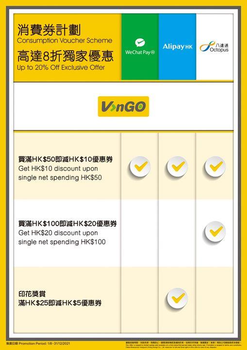 VanGO便利店: 消費券可享高達8折優惠