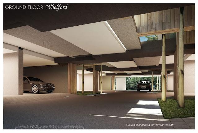 parking lot whelford garden suites