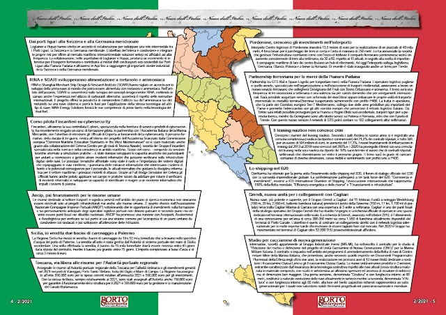 FEBBRAIO 2021 PAG. 4 - NEWS DALL'ITALIA