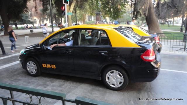 Táxis de Santiago