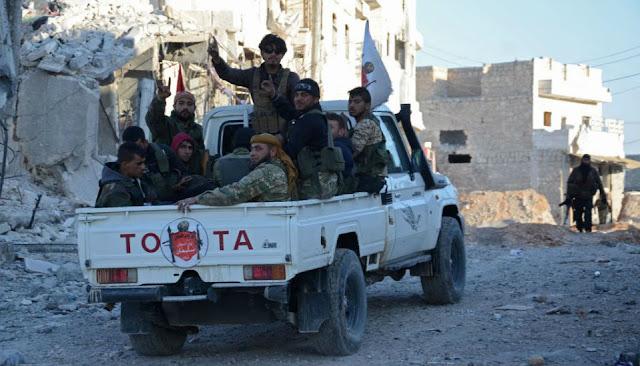 المجموعات المسلحة بمنطقة التنف تطالب أمريكا بدعم اكبر في حمايتهم