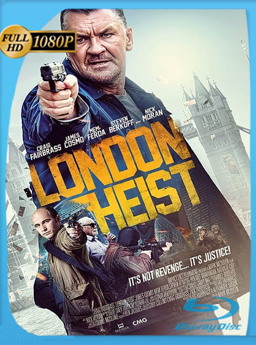 (London Heist) Gunned Down (2017) HD 1080p Latino [GoogleDrive] [tomyly]