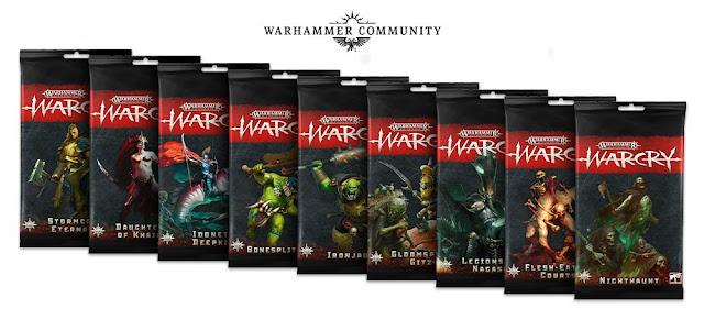 Cartas facciones no caóticas WarCry