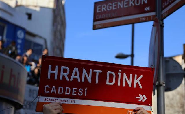 Calle en Estambul se llamará Hrant Dink
