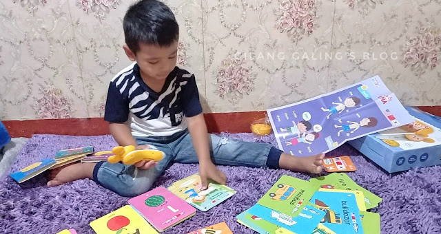 Serunya Belajar Multi-language bersama Hello Bana Set Mainan Edukasi Human Pencil