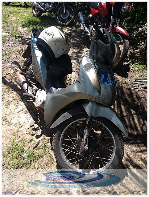 Agentes de Trânsito de Chapadinha apreendem motocicletas roubadas