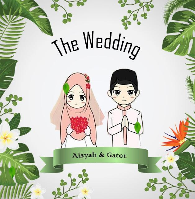 download template ppt undangan pernikahan islami gratis