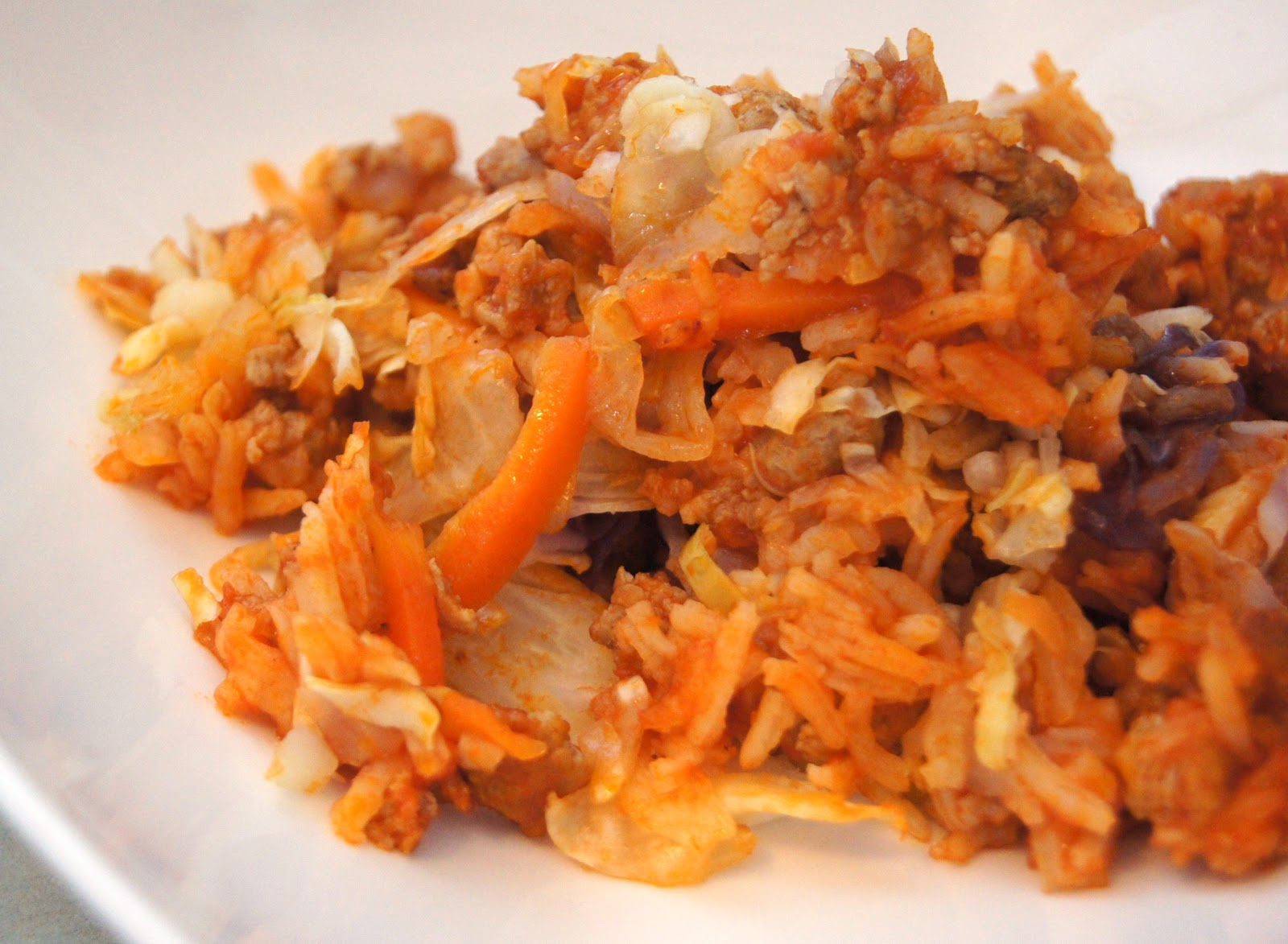 Eating Well While Gluten Free Cabbage Roll Casserole