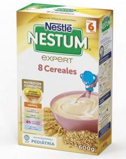Prueba las Papillas Nestum de Nestlé