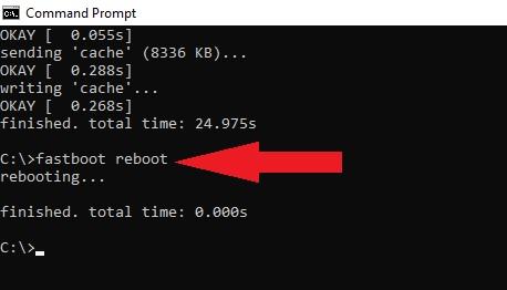 Fastboot Reboot Mi4i