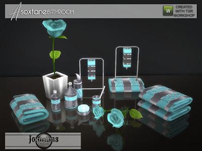 Asoxtane ванной Clutters набор продуктов Asoxtane для The Sims 4 10 продуктов для ванной комнаты, который идеально подходит для украшения вашей новой ванной комнаты. Автор: jomsims