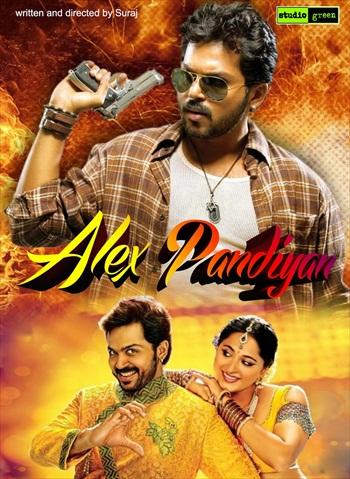 Alex Pandian 2013 UNCUT Dual Audio Hindi Movie Download