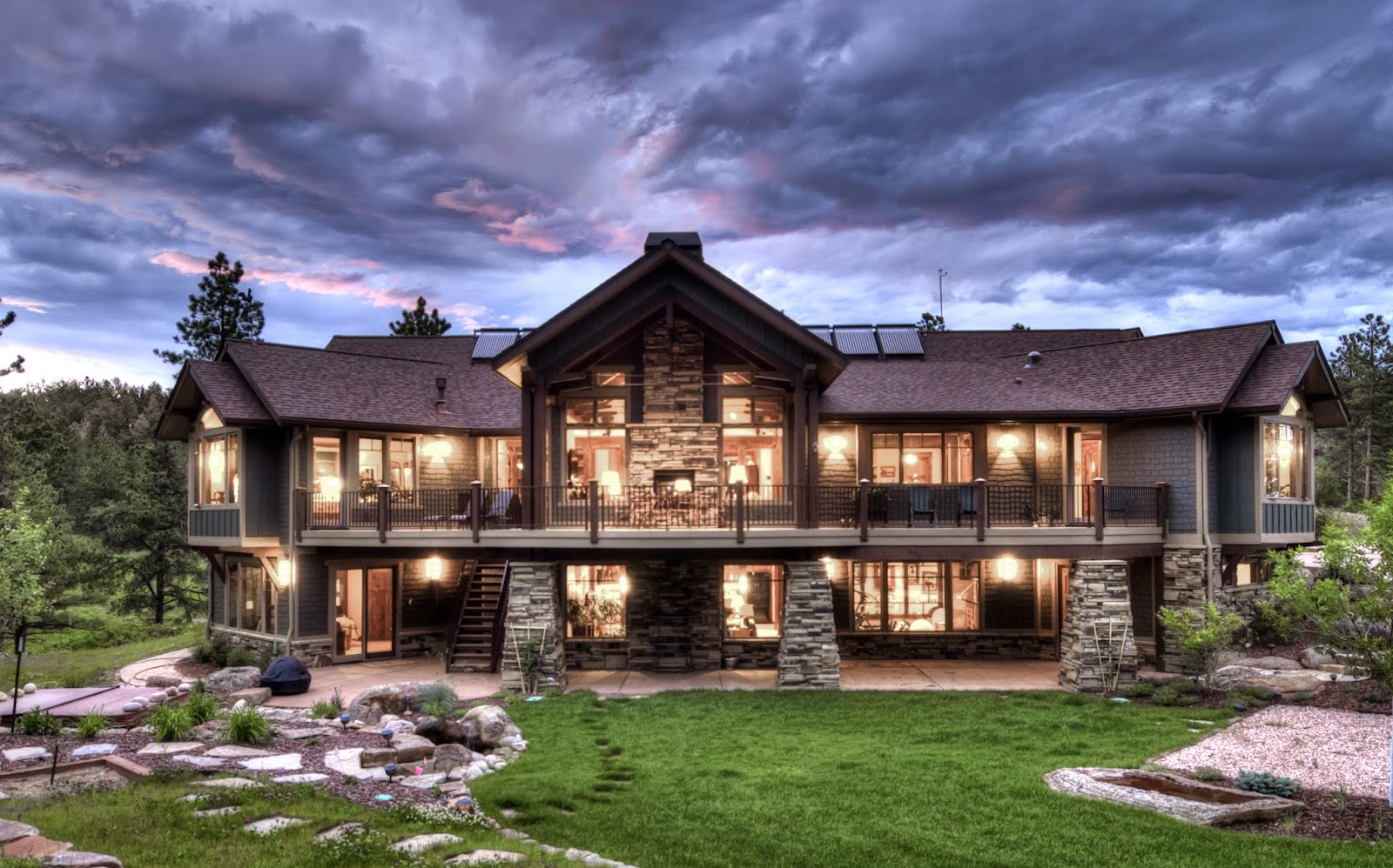 Beautiful Mountain Craftsman Style House Plans