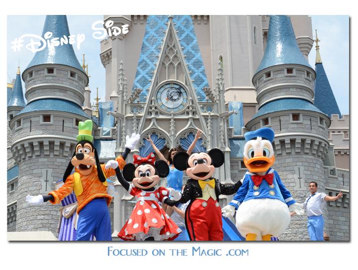 Goofy, Minnie, Mickey & Donald