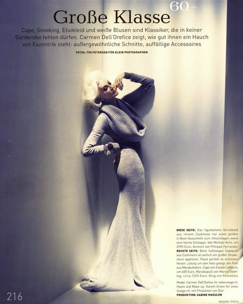 Fan notes: Carmen Dell'Orefice - A Million Things To Love