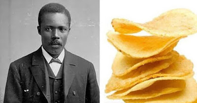 George Crum, the Black man who invented the potato chip