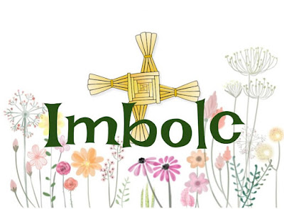 Imbolc Banner for Facebook Festival of Goddess Brigid or Saint Bridget