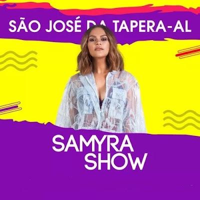 Samyra Show - São José da Tapera - AL - Dezembro - 2019