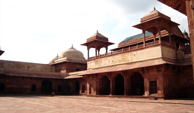 Mariam-uz-zamani-jodha-bai-palace, heritageofindia, Indian Heritage, World Heritage Sites in India, Heritage of India, Heritage India