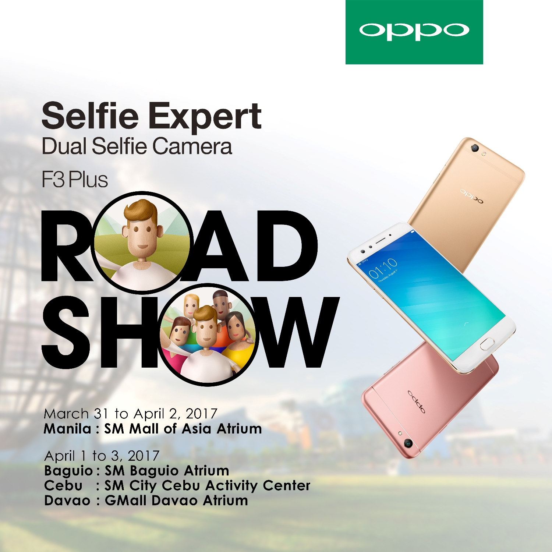 OPPO F3 Plus Groufie Era Road Show